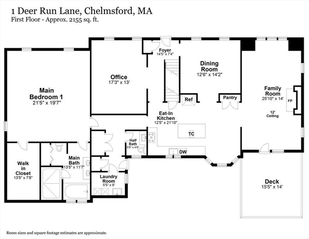 1 Deer Run Lane Chelmsford MA 01824
