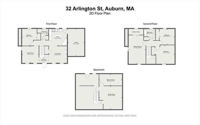 32 ARLINGTON Street Auburn MA 01501