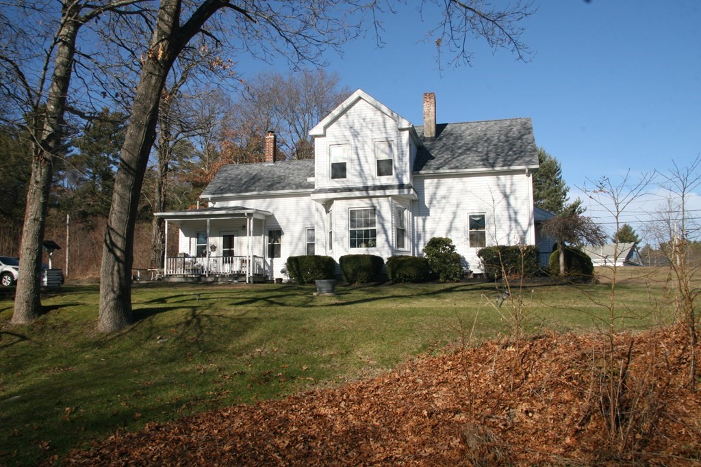 A charming, 1880's Colonial Farmhouse located in a wonderful, quiet and peaceful neighborhood in the quaint Town of Berkley. Currently located on a 3.05 acre lot (THIS LOT IS BEING  SUB-DIVIDED INTO 2 LOTS AS IT CONFORMS TO THE ACREAGE, FRONTAGE AND HAS PASSED PERC TEST) of the previous 40+ acre Historic Townley Dairy, this timeless gem offers limitless possibilities. Two country porches greet you on the front and side of the house. The first floor boasts high tin ceilings in the kitchen, dinning and living rooms and includes original built-in cabinets, wood floors and a living room bay window. The second floor is a separate apartment with private access/egress, separate utilities and can be used as an in-law apartment or as an additional income source. The large backyard is great for children and entertaining, includes a storage shed, is bordered by woods and has a gentle stream running along side the property. Minutes to major roads, highways, schools restaurants and shopping.