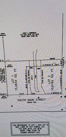 lot 2 south main Street Orange MA 01364