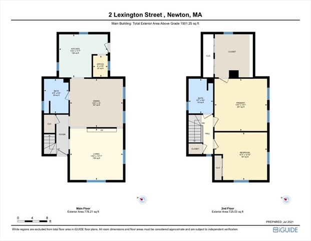 2 Lexington Street Newton MA 02465