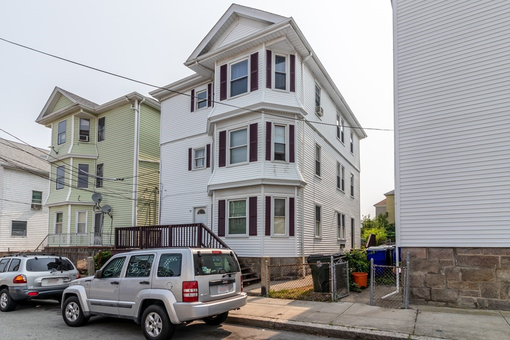3 family right near Kennedy park . This multi has all 2 bedroom spacious units with baseboard heat on 2nd floor with space heaters on floors 1&2. Hardwood floors in units . This home has vinyl siding exterior and updated vinyl windows with a Private rear yard . This 3 unit building also comes with letters of compliance for lead safe.