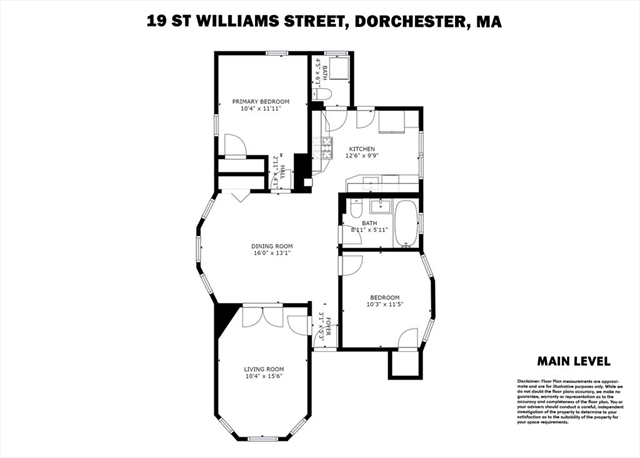 19 St William Boston MA 02125