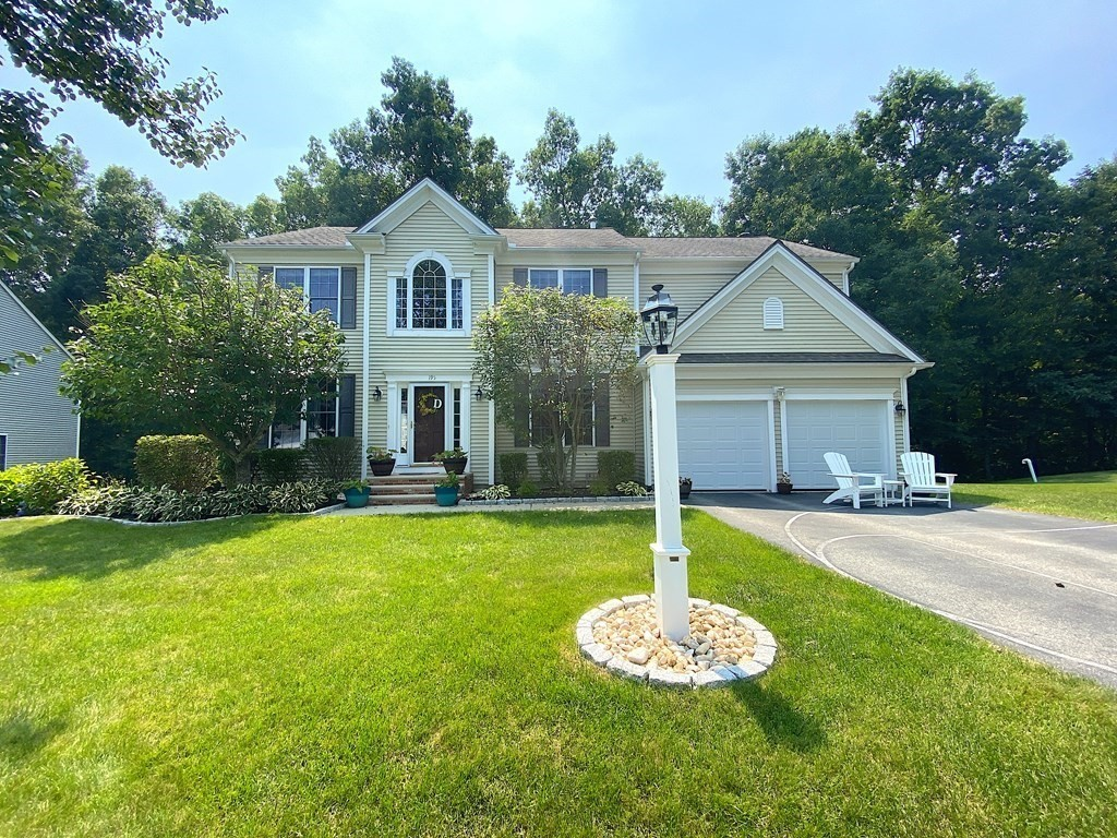 Look no further - Welcome Home to this Spacious Bright Colonial in highly coveted Forest View Estates neighborhood! Be greeted by 2-story foyer w/ an office w/ French doors beside it. Large Eat-In Kitchen with island opens up to a warm Family Room with fireplace that invites family enjoyment. Front to Back Living Room and Dining Room area offers additional room for entertaining. Fabulous Master Suite on 2nd floor includes sitting area, walk-in closet, & Master Bath w/ walk-in shower, tub, & dual vanity sinks. Three additional bedrooms are down the hall, one having its own private bath. A 3rd full bath rounds out the second floor. Finished Walk Out Lower Level includes huge open flex room with access to the serene backyard w/ deck. Other great features are the outstanding professional landscaping & large windows that provide natural lighting. Enjoy use of the neighborhood playground just down the street! Visit the first open houses this Saturday 7/31 and Sunday 8/1 from 1-3PM!