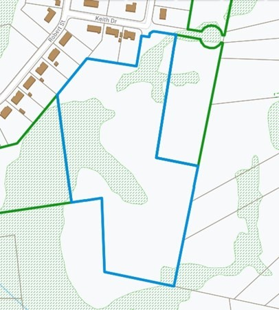Come check out this beautiful 14 acre buildable lot tucked away in a great neighborhood. Some engineering has been done. This property also has private beach rights to Sawdy Pond for only $40 per year.