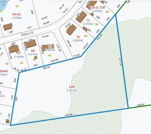 Come check out this beautiful 5.9 acre lot tucked away in a great neighborhood. This property also has private beach rights to Sawdy Pond for only $40 per year.