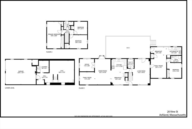20 Vine Street Ashland MA 01721