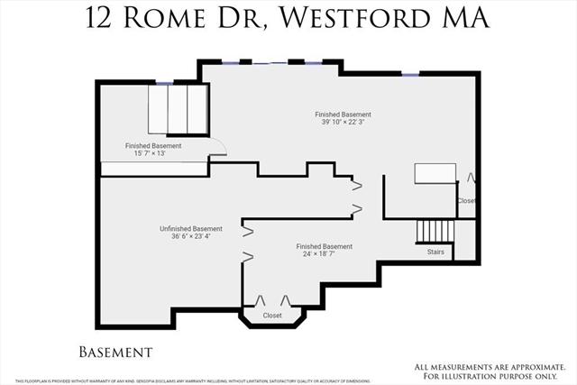 12 Rome Drive Westford MA 01886