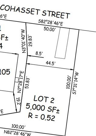 LOT 2 Cohasset Worcester MA 01604