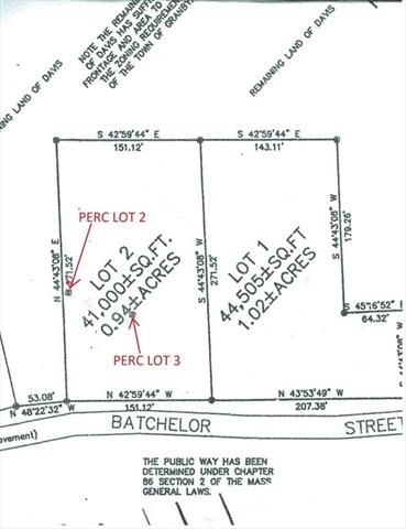 Lot 2 Batchelor Street Granby MA 01033
