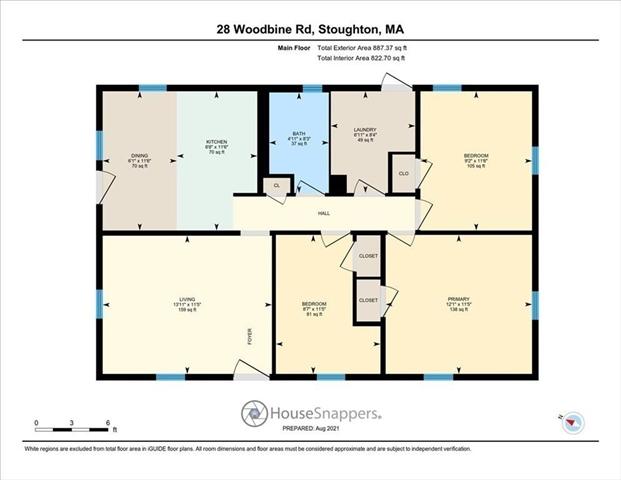 28 Woodbine Road Stoughton MA 2072