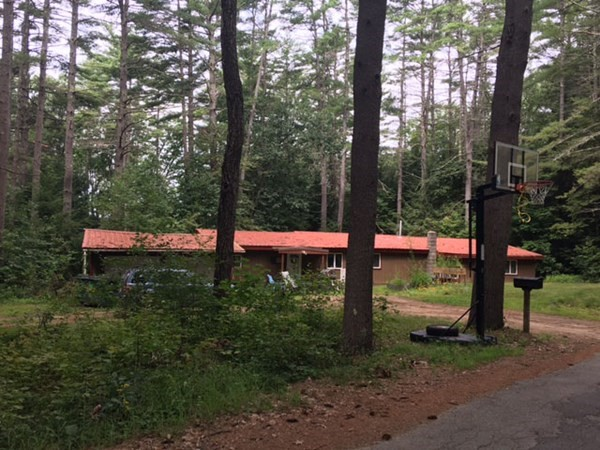 Ranch Style home set in quiet area, near Eagleville Pond and White Pond.This home won't qualify for some types of financing.