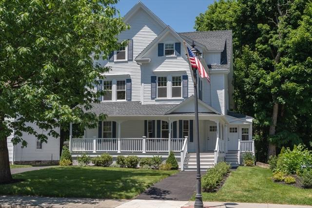 121 Washington Street, Wellesley, MA, 02481, Wellesley Hills  Home For Sale