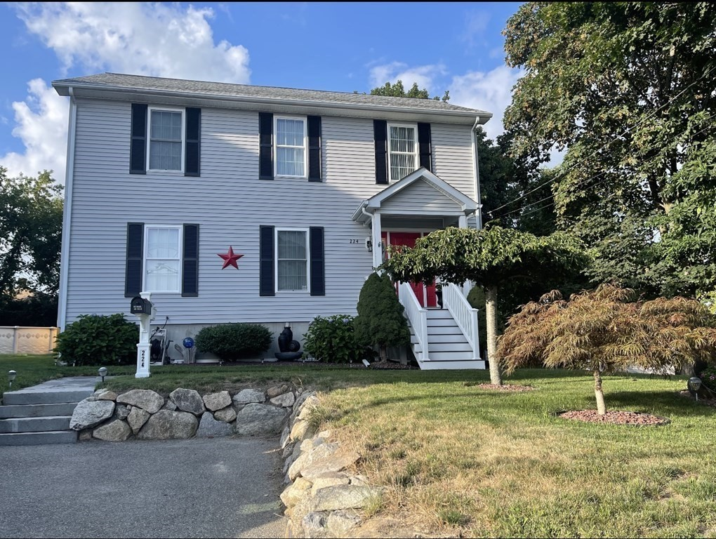 This Immaculate Colonial home, built in 2005 features new hardwood floors through out the downstairs living area and the upstairs hallway.  First floor features a large living room, a formal dining room, an eat in kitchen with laundry and a half bath. The second floor features a large master bedroom suite with a walk in closet and master bath with a jetted tub and walk in shower.  This home has a full basement for storage and a nice fenced in yard with pool and shed.