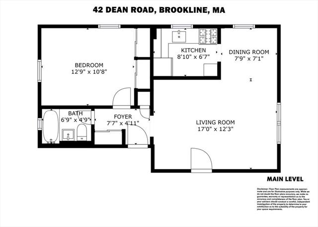 42 Dean Road Brookline MA 02445