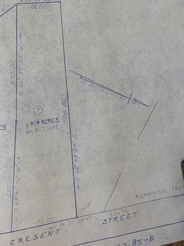 Lot 7 Cresent Street Ware MA 01082