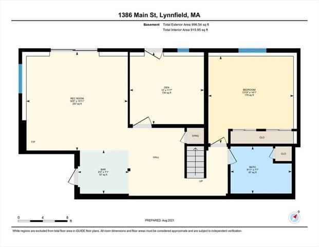 1386 Main Street Lynnfield MA 1940