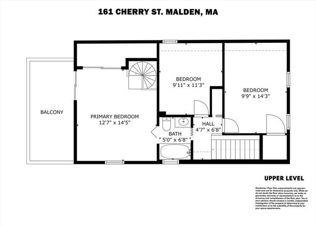 161 Cherry Street Malden MA 2148