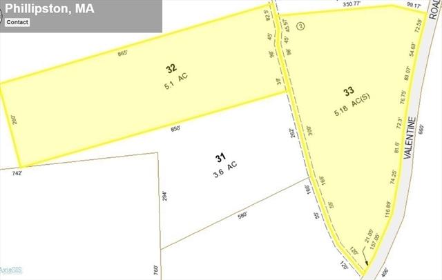 Lot 32-A Valentine Road Phillipston MA 01331
