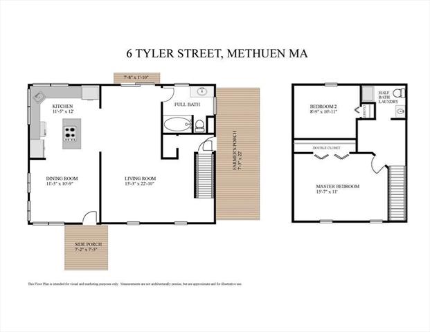 6 Tyler Street Methuen MA 1844