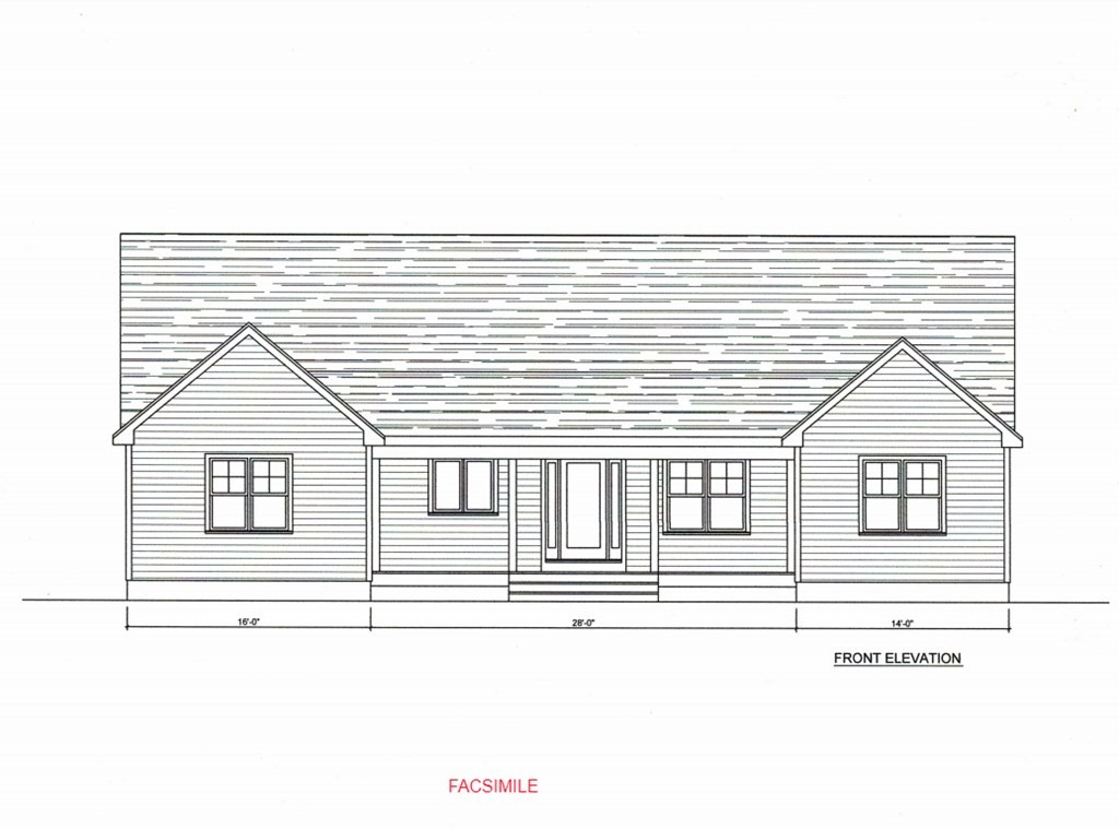 Early Bird Gets the Worm! To Be Built in Westport. We're proud to offer this Ranch style home with Open Floor Plan. Proposed home will have 3 Bedrooms, 2 Baths and attached garage. Front of home to have mix of (Blue) vinyl cedar Impression siding, with (tan) stone façade. You'll enjoy one-level living with laundry on the main level, a fireplaced Great Room, front porch for morning coffees, Central Air and more. Kitchen will boast white cabinetry with Granite counters. Photo provided is facsimile. 3-d renderings in progress, additional photos & detailed info will be added to MLS as project progresses.