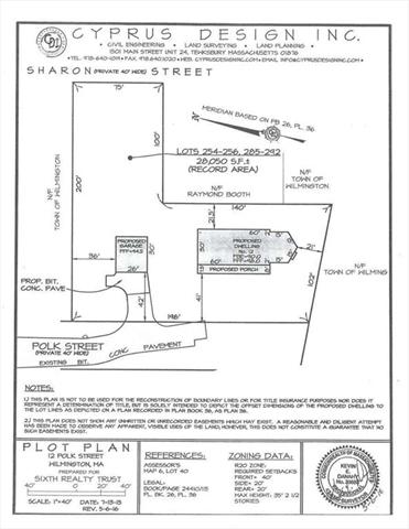 12 & 14 Polk Street Wilmington MA 01887