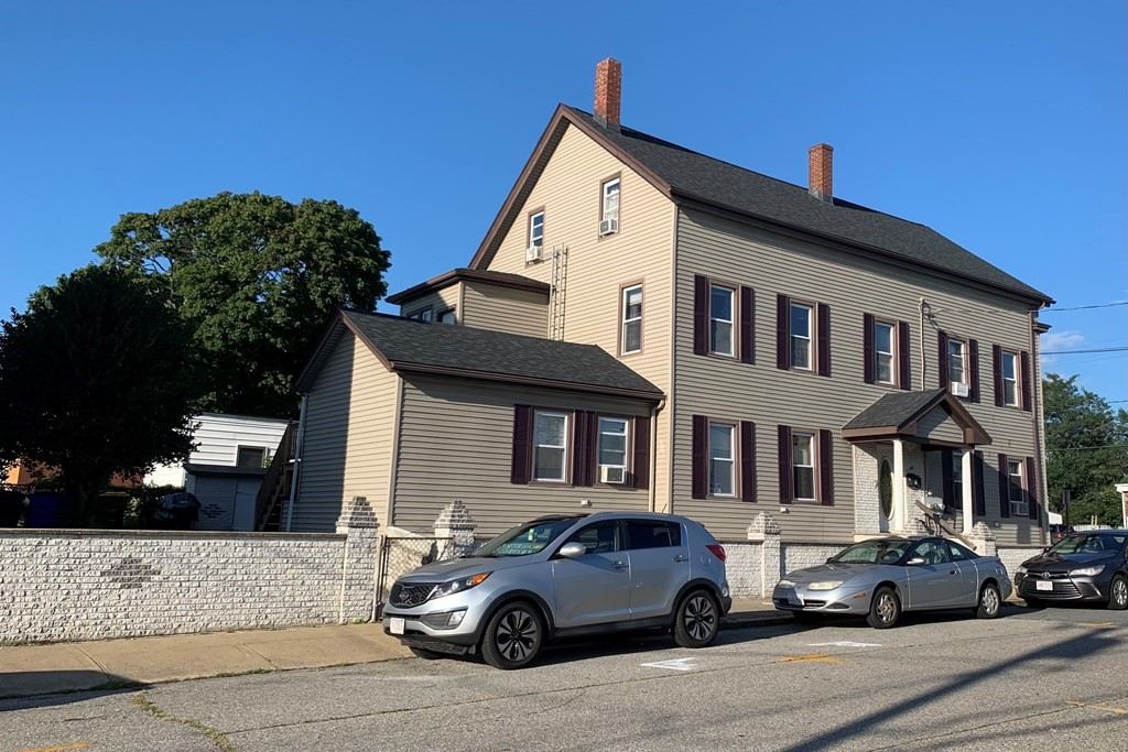 3 Family on Last Street in Fall River before Tiverton Line. Features 3 bedroom units, corner Lot & driveway. Roof approximately 5 years old and siding 10 yrs. New Price $474,900.