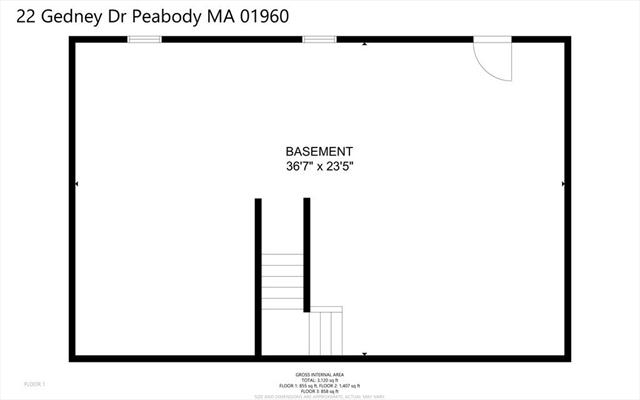 22 Gedney Drive Peabody MA 1960