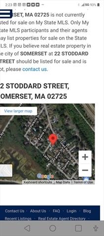 22 STODDARD Street Somerset MA 2725