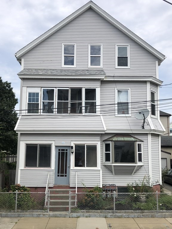 ALL ABOARD! Three unit multi family home in the heart of Fall River's North End! Dead end street with off street parking within minutes of the highway. Each unit has been tastefully renovated and boasts hard wood floors throughout. The units each have three bedrooms and spacious living areas! Included in the updates is the roof which is approximately five years old.  A one car garage can also be found on the property right along side of the adorable patio area. The garage also has a brand new roof and vinyl siding. Two of the units are vacant and move in ready. Property is easy to show!