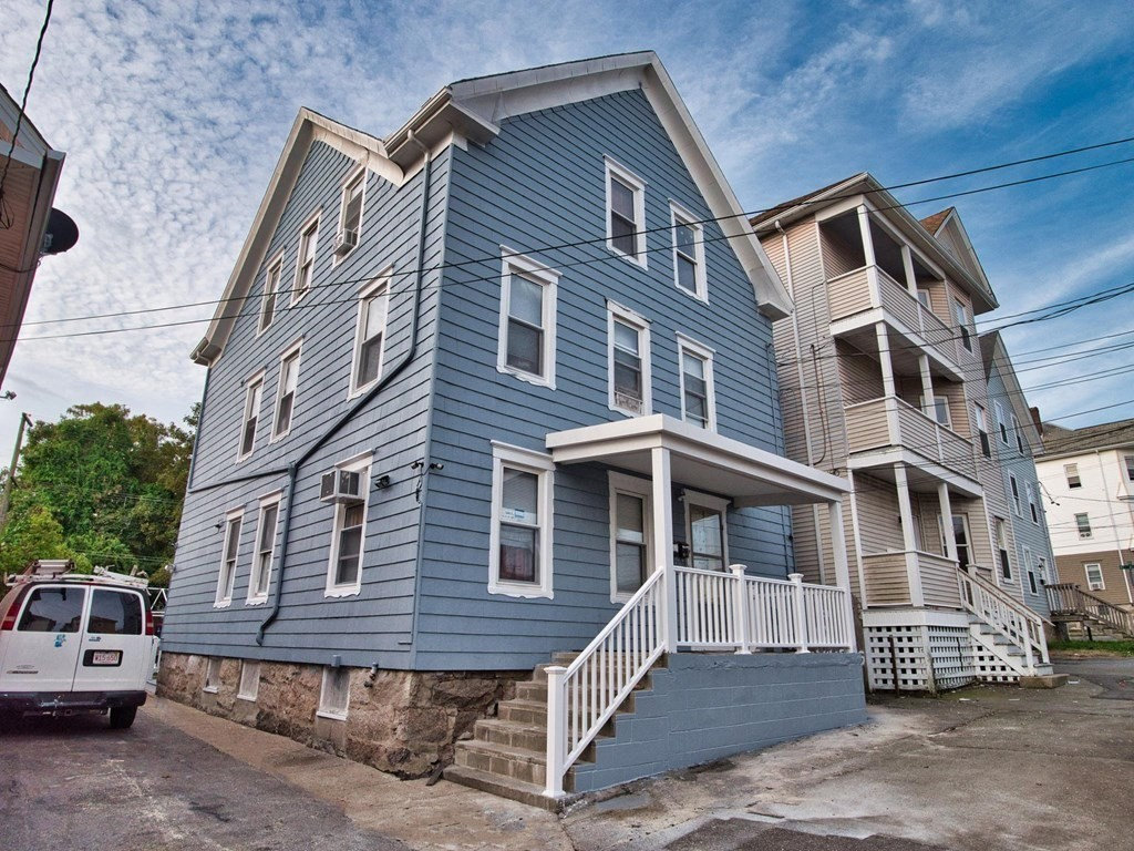 Looking for additional income from investment property? Now is your opportunity! Come check out this large 3 family in New Bedford! Each unit offering 2 bedrooms and 1 full bath. Small communal yard for tenants to enjoy, minutes to all ammenities, shopping, recreation etc. First showings at Open House Saturday 9/4 12pm-1pm.