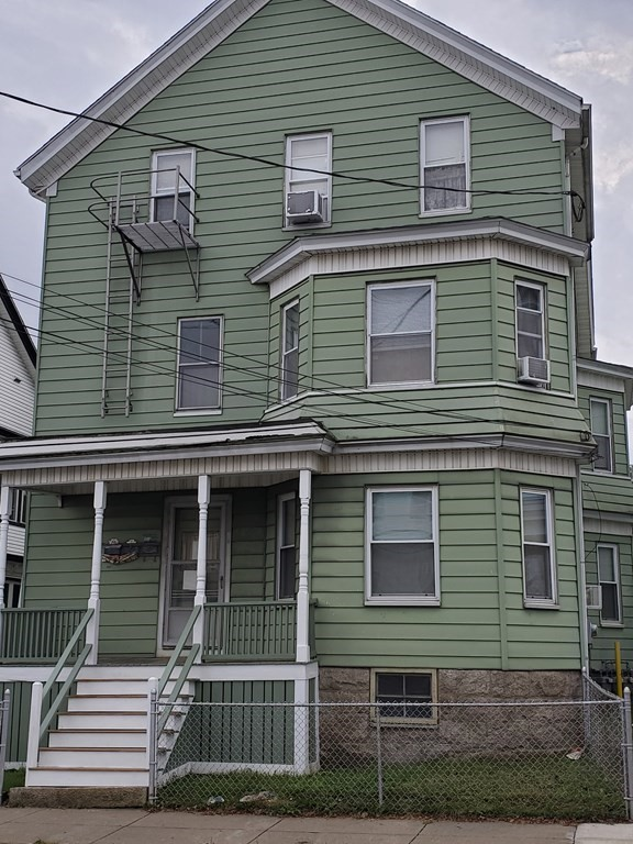 Great Investment Property. Spacious three family family home with two/three bedroom units with off street parking for two vehicles. Easy maintenance exterior as the house is vinyl sided. Each apartment has separate utility paid by the tenant. Many updates. Don't miss out this opportunity to own an investment property before the train arrived in Fall River. House if fully occupied. First and Third floor tenant at will. Second Floor has a lease. Rents are below market.Showings by appointment only please contact listing agent by call or text.