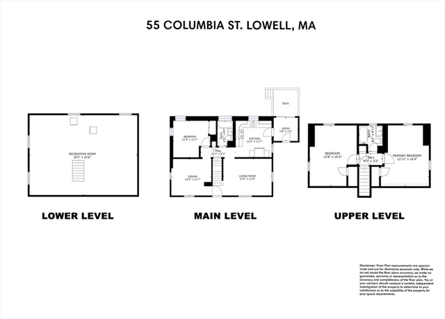55 Columbia Street Lowell MA 01851