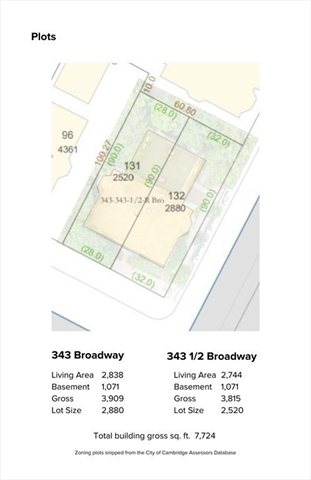 343&343.5 Broadway Cambridge MA 2139