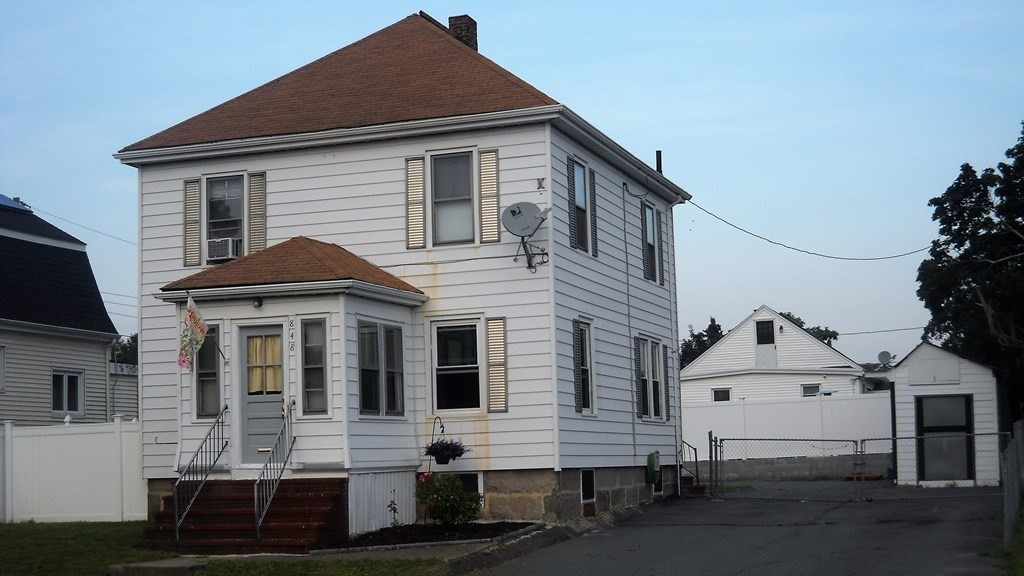 Welcome to 848 Rockdale ave. conveniently located to Buttonwood park, downtown New Bedford and the Historic Waterfront. On the first floor you will find a double parlor living room, den, pantry, mud room and spacious kitchen. The second floor includes 3 bedrooms and a full bathroom. Hardwood floors throughout the whole house. The roof water heater are recent. The laundry facilities is in the basement. There is also a work room in the basement for crafts or workshop as well, There is off street parking for 10 cars. The backyard is large, fenced in gated. A two large shed for extra storage. Perfect for large family gatherings. Easy access to highway,public transportation,shopping,Buttonwood Park and bike/walking path. Move in condition. Don't miss out.