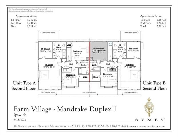35 Dow Brook Cir (Floor Plan A) Ipswich MA 01938
