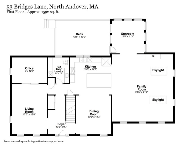 53 Bridges Lane North Andover MA 01845