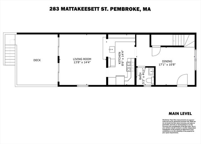 283 Mattakeesett Street Pembroke MA 02359