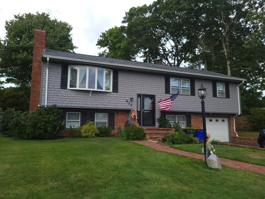 **HIGHEST AND BEST DUE 5P MONDAY SEPTEMBER 13TH** Welcome home! Located in one of Fall River's most sought after neighborhoods, this recently updated 3 bedroom raised ranch won't last! Offering new built-in kitchen appliances and a 40 year architectural roof that is under 5 years old, this house has everything you are looking for. All 3 bedrooms and full bath on the main level with a raised deck off the dining area as well as an additional living area in the basement with a bonus space that can be used as your home office or play area. Backyard is ready to entertain with a hot tub under a pergola setting and a graded area for a pool awaits! Working fireplace on the main level with a pellet stove to assist heating the cold winters, pellets included! Easy highway access and less than 5 minutes from the South Coast Marketplace, you'll love the convenience of living in the city while feeling like you are in the countryside! Sale contingent on seller finding suitable housing.