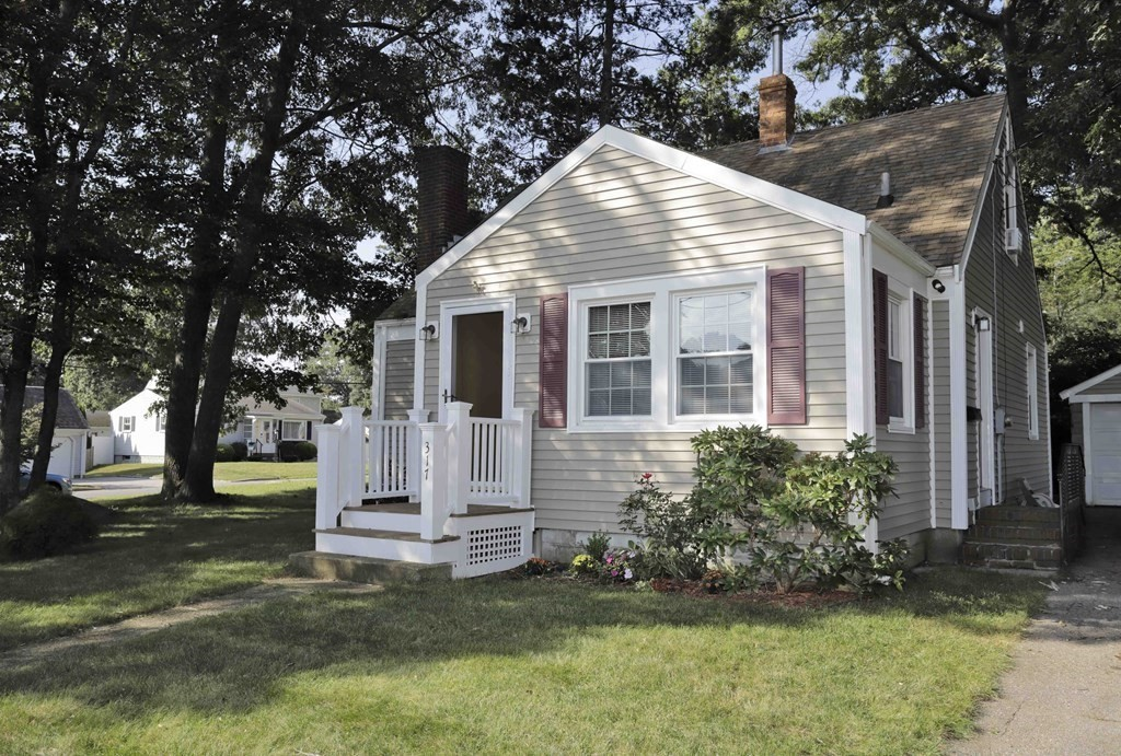 This charming Cape Cod home is located in a very desirable neighborhood on the New Bedford / Dartmouth town line & just steps to Buttonwood Park! The home offers a cozy fireplaced living room , kitchen with cathedral ceiling & stainless steel appliances , 4 bedrooms , one full bath, hardwood floors throughout, vinyl windows , new shed and a detached one car garage. This lovely home has been well maintained and situated on a corner lot one block away from Buttonwood Park. Owner is currently adding full insulation from Mass Save. Easy access to highways, public transportation, shopping, the Buttonwood Park Zoo, St Lukes Hospital and walking trails .  Easy to Show !