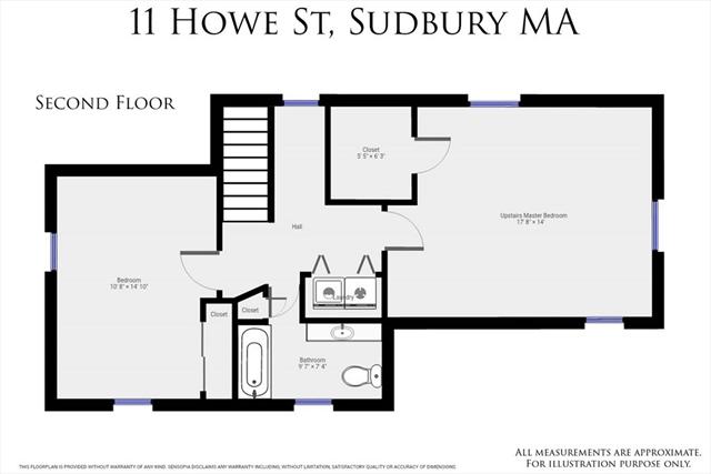11 Howe Street Sudbury MA 1776