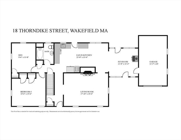18 Thorndike Road Wakefield MA 1880
