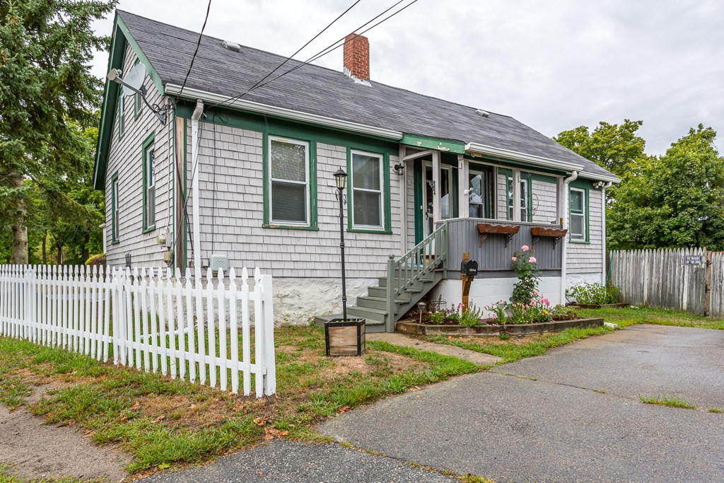 Great starter home with two first floor bedrooms and bath. Finished attic space has a larger bedroom with walk in closet. Huge fenced in yard with A/G pool.  Close for commuters. Great West end location.