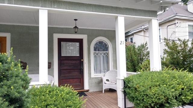 21 Chase Street Newton MA 02459