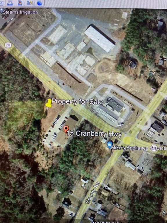 2.92 acres with 407.66 feet of frontage on busy Route 28 partially zoned General Commercial and partially zoned Industrial.  Nearby businesses include MA 4th District Court, Gas/Convenience/Coffee and a new mixed use development across the street.  I-495 Exit 2 (Carver/Plymouth MA Route 58) less than 1/2 mile away. Buyer to do due diligence on available uses.  Known as Town of Rochester Map 17, Lots 31 C and 31 D.