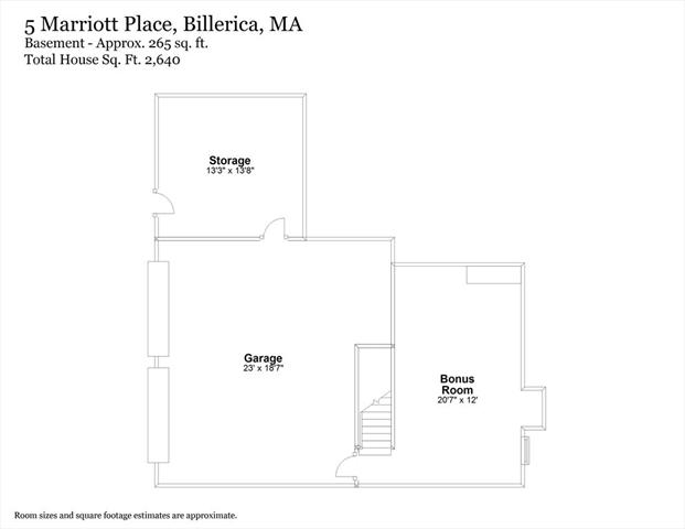 5 Marriott Place Billerica MA 1821