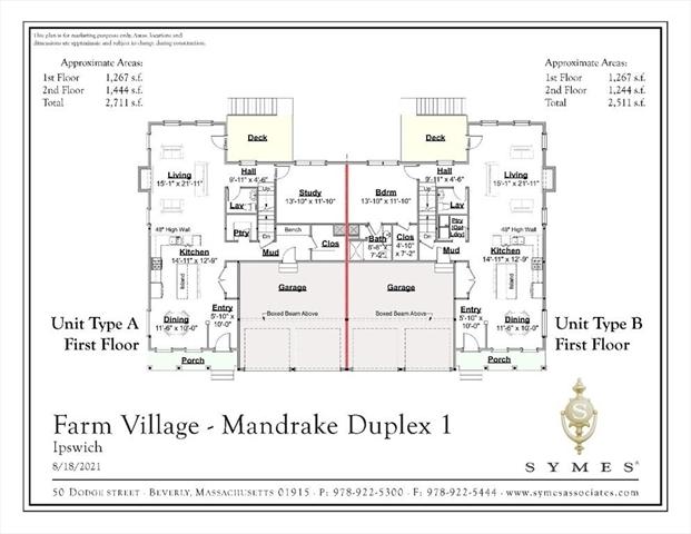 33 Dow Brook Cir (Floor Plan B) Ipswich MA 1938