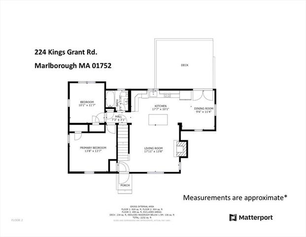 224 Kings Grant Road Marlborough MA 1752
