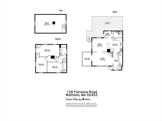 129 Florence Road Waltham MA 02451
