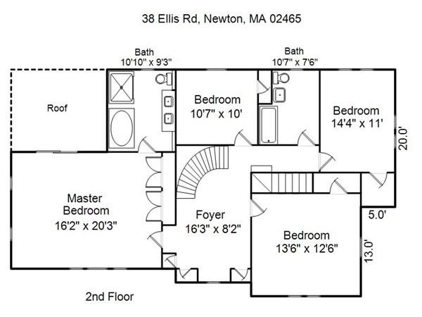 38 Ellis Road Newton MA 02465